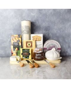 The Perfect Liquor & Cheese Gift Set