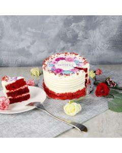 Red Velvet Surprise Cake