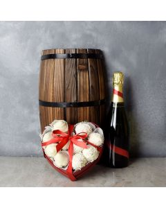 Maryvale Champagne & Chocolate Strawberries Basket