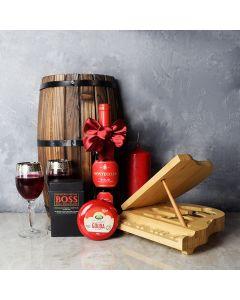 Grand Piano & Wine Gift Basket, wine gift baskets, chocolate gift baskets, Valentine's Day gifts, gift baskets, romance