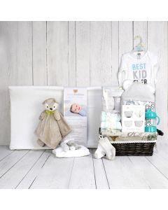 CHANGING PAD & OTHER ESSENTIALS UNISEX BABY GIFT SET, unisex gift hamper, newborns, new parents