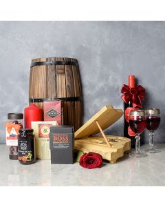 Deluxe Grand Piano & Wine Gift Basket, wine gift baskets, chocolate gift baskets, Valentine's Day gifts, gift baskets, romance