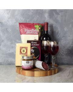 Savoury Treats Wine Basket