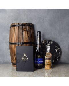 Gourmet Cookies & Champagne Gift Basket, champagne gift baskets, gourmet gift baskets, gift baskets