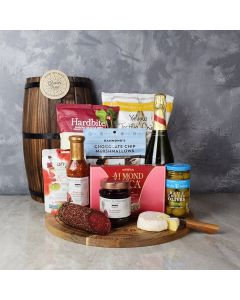 BEST OF LUCK CHAMPAGNE GIFT BASKET