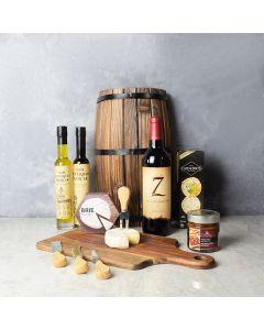 Antipasto & Wine Gift Basket, wine gift baskets, gourmet gift baskets, gift baskets, gourmet gifts
