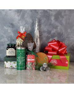 Sweet Christmas Treats Basket