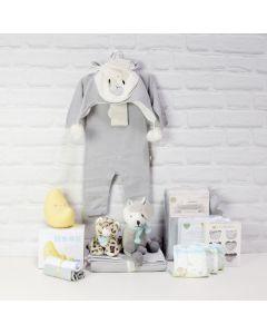 GOODNIGHT BABY UNISEX GIFT BASKET, baby gift hamper, newborns, new parents