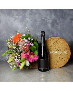 Congratulatory Cookie Cake Gift Set