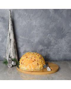 Cheese Ball Platter Gift Basket