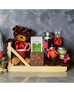 Christmas Coffee & Treats Basket