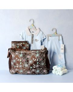 LET'S GO FOR OUTING BABY BOY GIFT SET, baby boy gift hamper, newborns, new parents