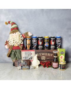 Gourmet Christmas Beer Gift Set, beer gift baskets, Christmas gift baskets, gourmet gift baskets