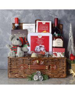 Ample Holiday Wine & Treats Basket