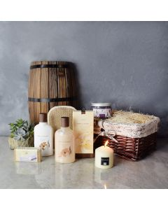 Natural Beauty Succulent & Spa Gift Set, spa gift baskets, spa gifts, gift baskets, spa sets