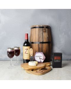 Riverdale Gift Set with Wine, wine gift baskets, gourmet gifts, gifts