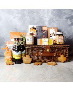 Thanksgiving Beer & Treats Basket