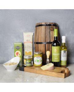 Cheese, Tapenade & Wine Gift Set, wine gift baskets, gourmet gift baskets, gift baskets, gourmet gifts