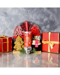 Tea & Sweets Holiday Basket