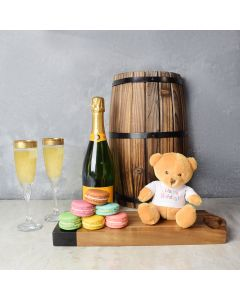 Sweet & Bubbly Birthday Set, champagne gift baskets, gourmet gift baskets, gift baskets, gourmet gifts