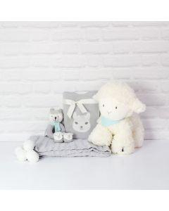 LITTLE LLAMA UNISEX BABY GIFT BASKET, baby gift hamper, newborns, new parents