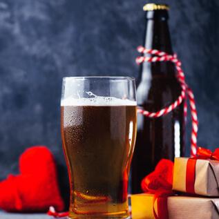 Beer gift baskets Donna Lee Gardens