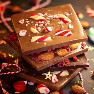 Chocolate gift baskets Donna Lee Gardens